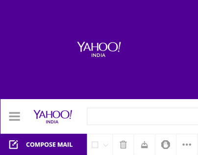 Yahoo - Mail Redesign Concept