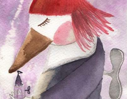 Chica pájaro