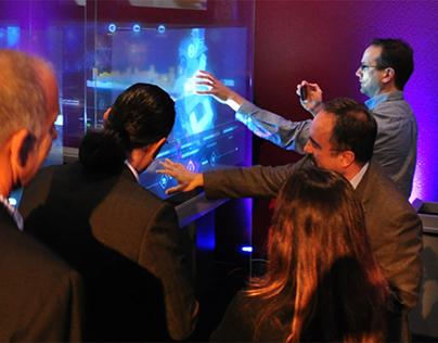 Corning // Public Interactive Information Display Unit
