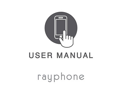 Phone user manual - Arabic & English