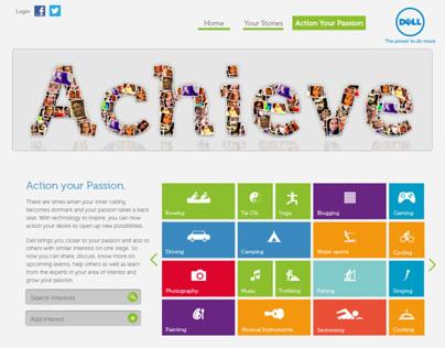 Achieve with Dell Microsite
