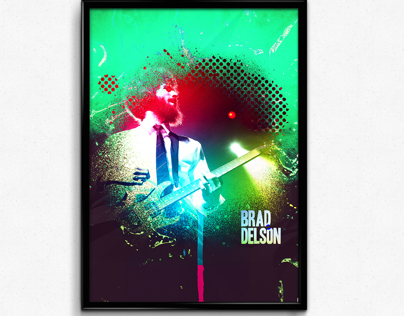 Brad Delson Poster
