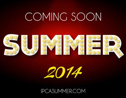 ICPA Summer Camp web graphics