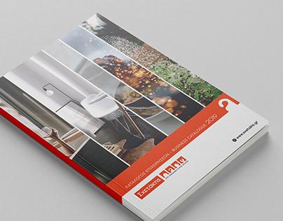 Business Catalogue Design for Sxetakis (2019)