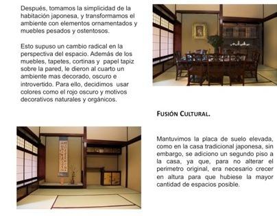 Fusión Victoriana-Japonesa. Análisis Forma. 7 Semestre