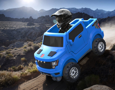 Ford Raptor Towing Capacity >> Step 2 Ford F-150 SVT Raptor Foot to Floor /push around on Behance