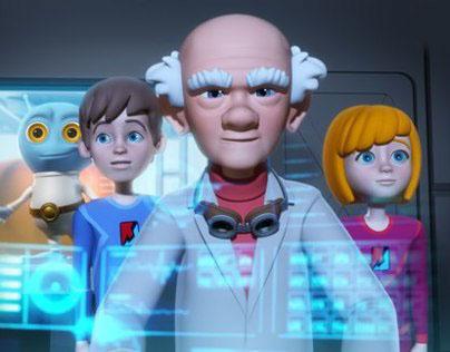Strela - animation pilot episode