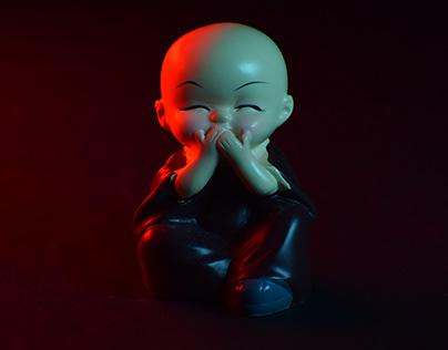 Baby Monk   Experiment Shoot