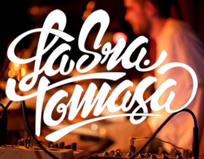 LA SRA. TOMASA (lettering)