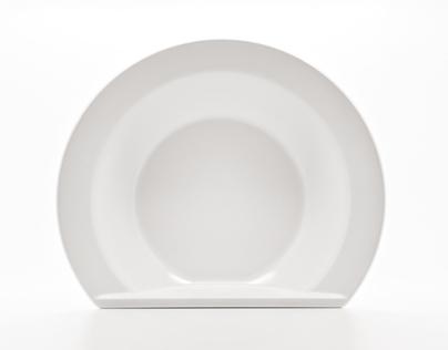 Ceramic Scoop Bowl