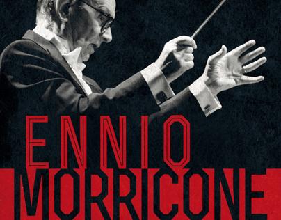Affiche spectacle // ENNIO MORRICONE