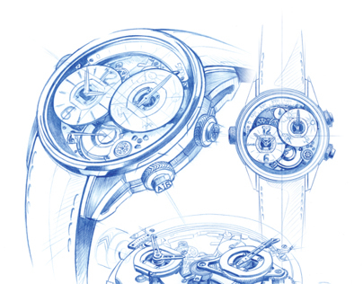 BREVA WATCHES SKETCHES