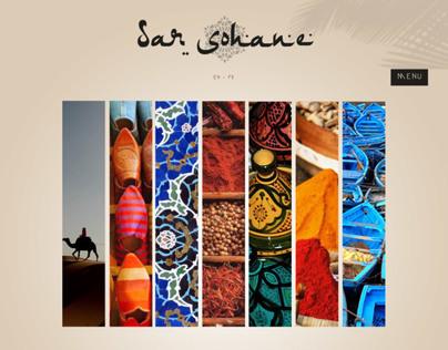 Moroccan Riad website