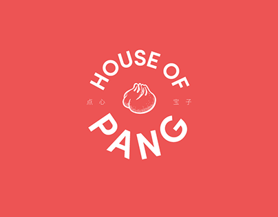 Branding for Chinese Restaurant (House of Pang)