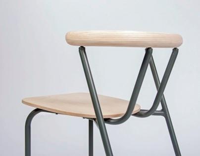 Wondu stackable chair