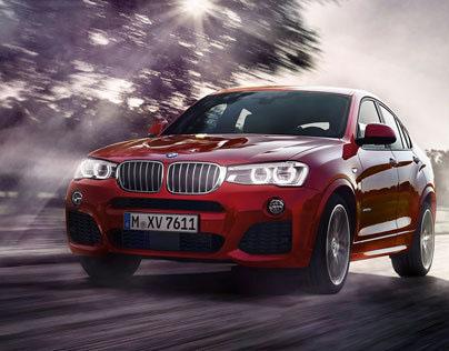 BMW X4 - UNLEASH CHARACTER