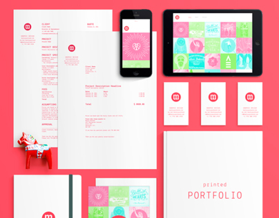 Markus Wreland Graphic Design - Self branding