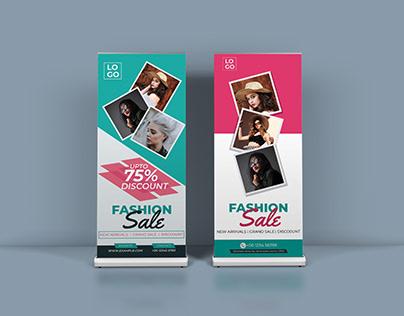 Fashion Rollup Banner
