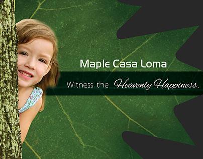 Real Estate Brochure (Maple Casa)