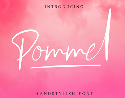 Pommel - Handstylish Font (Free Download)