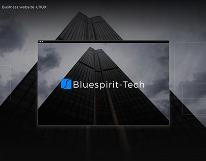 Bluespirit-Tech| web design for consulting agency