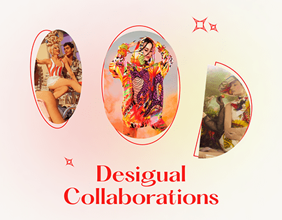 Promo sites for new Desigual collections