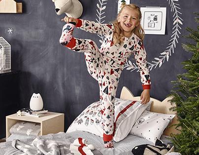 Collection de pyjamas de Noël 2017
