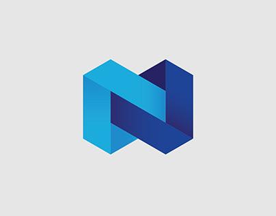 Nexo logo & digital brand identity design