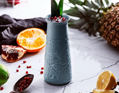 Ceramic Tiki Mugs // MAO.
