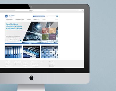 Ge Capital Italia - Web site restyling