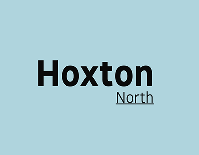 Hoxton North - Type Family