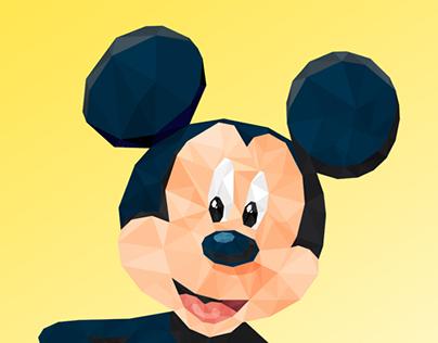 Illustration Poly / Mickey