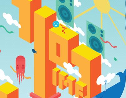 7107 INTERNATIONAL MUSIC FESTIVAL 2014 POSTER