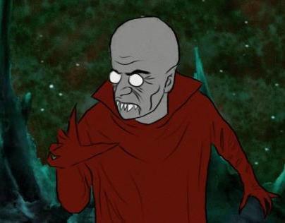 Space Vampire - Rotoscope Test Animation