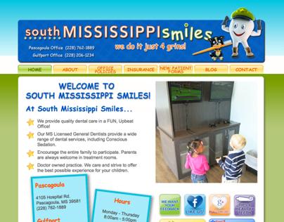 South Mississippi Smiles Website Design