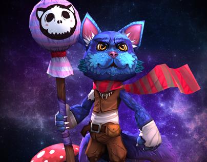 Magic Cat and his Lolipop