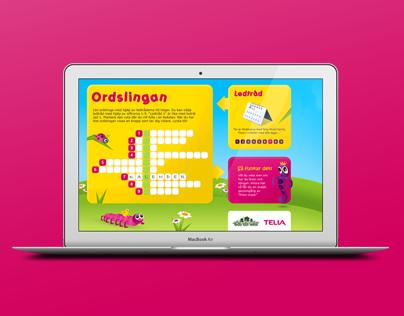 Client Work -  Web campaign, Telia