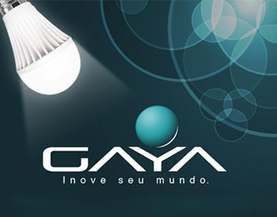 GAYA - Layout para apresentação de produtos.
