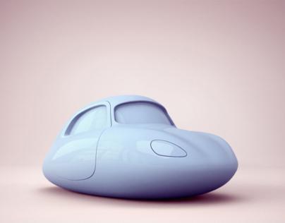 Toy Car - Citroen DS Caricature