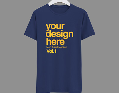 T-Shirt Mock-up Free Download