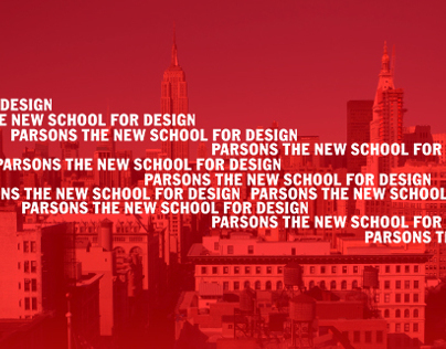 Parsons School of Design Strategies & Design Dialogues