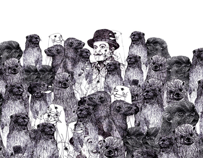 Poirot and his crew of otters