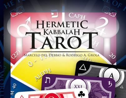 Hermetic Kabbalah Tarot - 2ª Edição