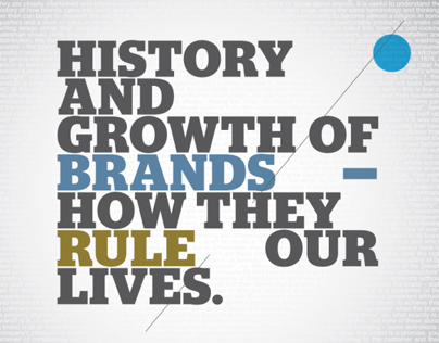 A BRIEF HISTORY OF BRANDS