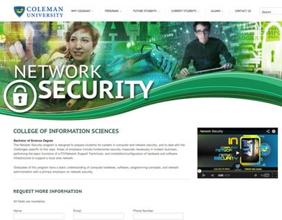 Coleman Website Banners