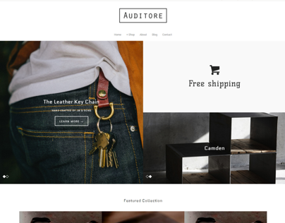 Auditore - Theme for shopify
