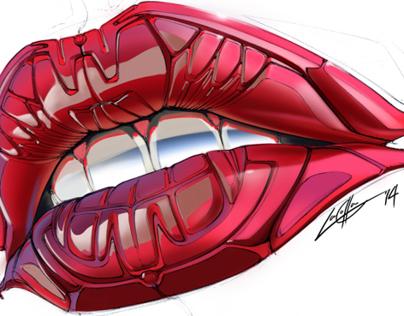 Fembot Lip Study