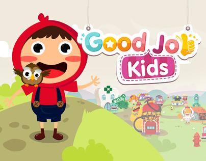 'Good job kids' iOS/Android app