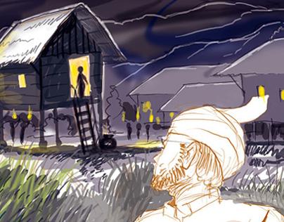 Illustration of short stories