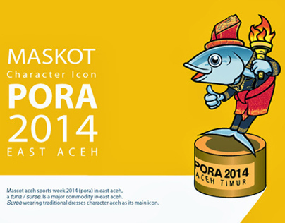 Mascot icon PORA 2014